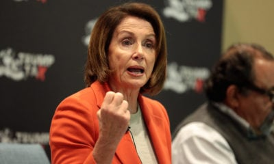 "Nancy Pelosi califica de ""obeso mórbido"" a Trump"