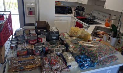 Así es la ayuda alimenticia por el Covid-19 que reparten en Hialeah