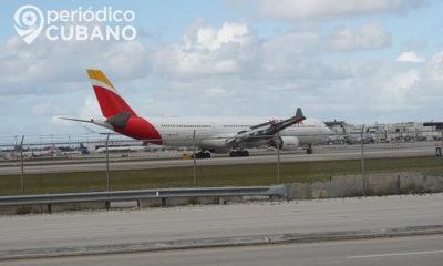 Cubanos necesitan permiso del MININT para abordar vuelo humanitario a España