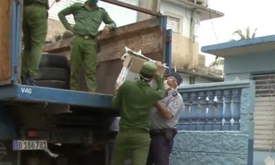 Desmantelan negocio particular de refacciones de autos en Villa Clara