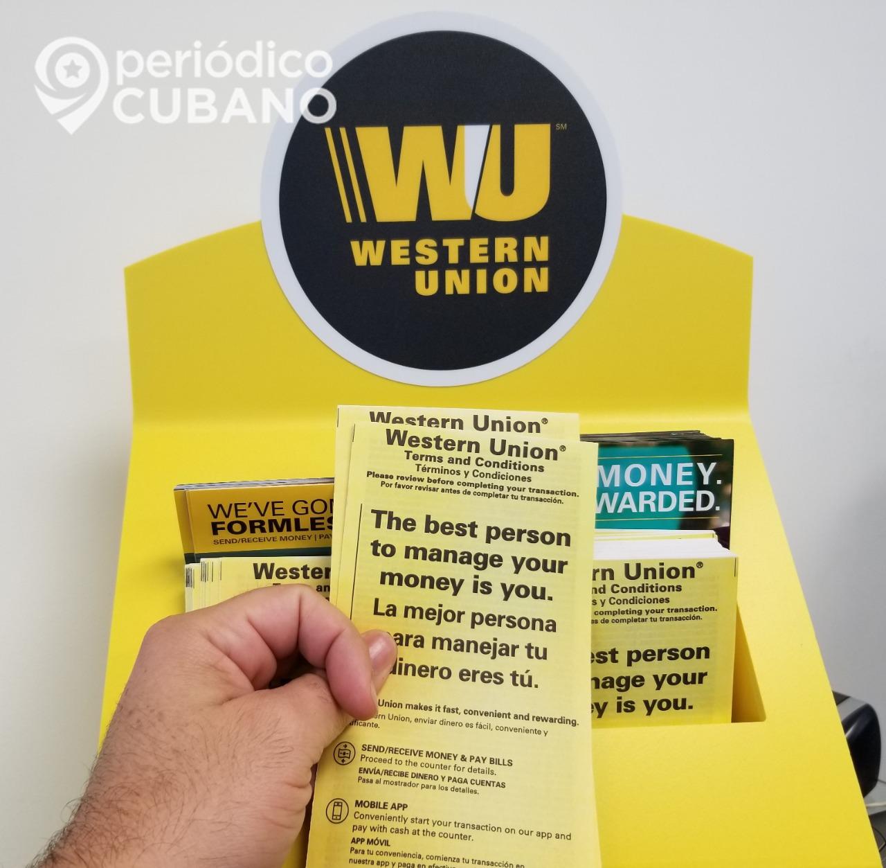 EEUU sanciona a FINCIMEX, encargada de manejar las remesas en Cuba vía Western Union
