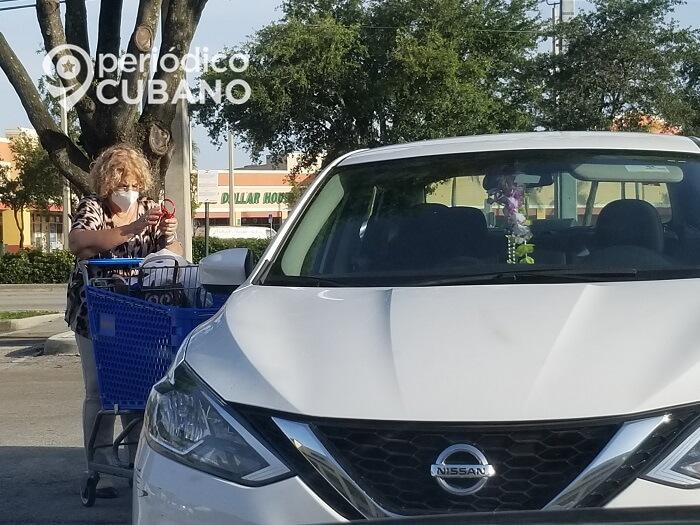 En Miami-Beach es obligatorio utilizar el nasobuco para prevenir el coronavirus