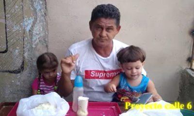 Padre de familia, escasez de leche