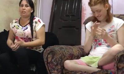 Madre cubana de niña autista