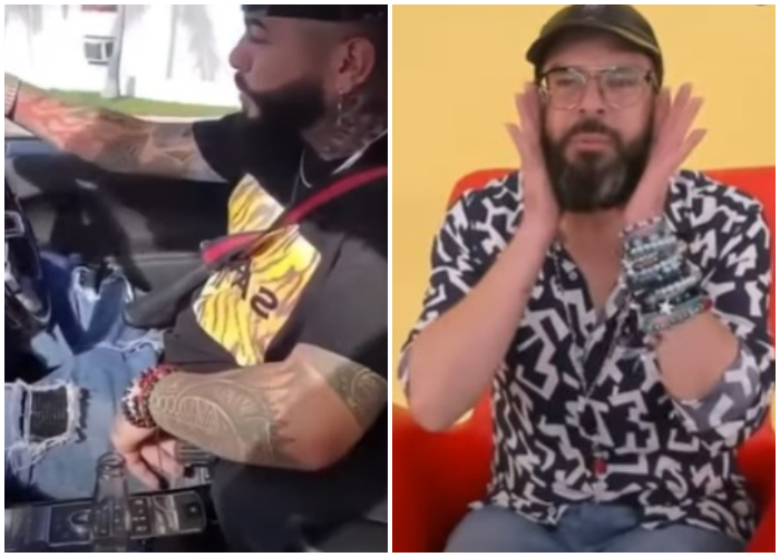 Otaola aconseja al Chacal al aparecer tomando una cerveza Corona mientras conduce en Miami