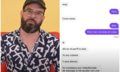Otaola denuncia como los jóvenes cubanos se venden en redes sociales a cambio de una recarga telefónica