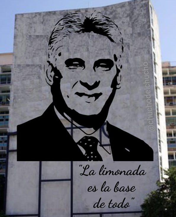 Periodista oficialista regaña a la prensa que dejó expuesto los cometarios a la limonada y el guarapo de Díaz-Canel
