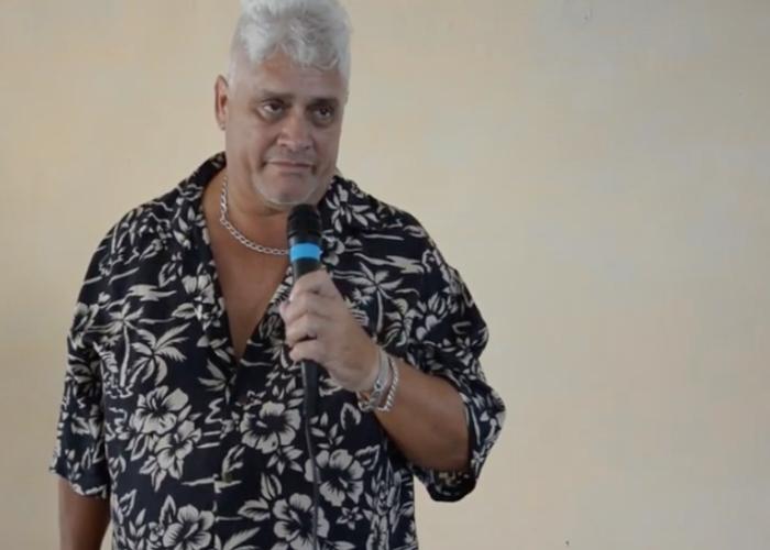 Actor cubano Carlos Massola
