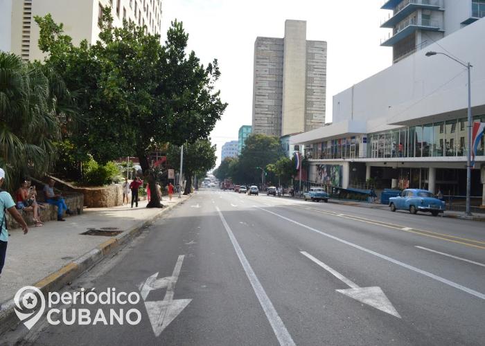 Calle La Rampa, en La Habana