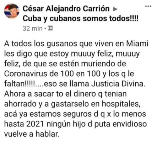 Cubanos somos todos Facebook