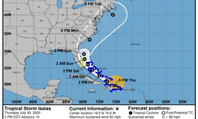 Defensa Civil decreta fase informativa para el oriente de Cuba por tormenta Isaías