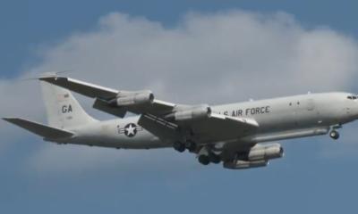 E-8C, avión de reconocimiento de la Fuerza Aérea de Estados Unidos