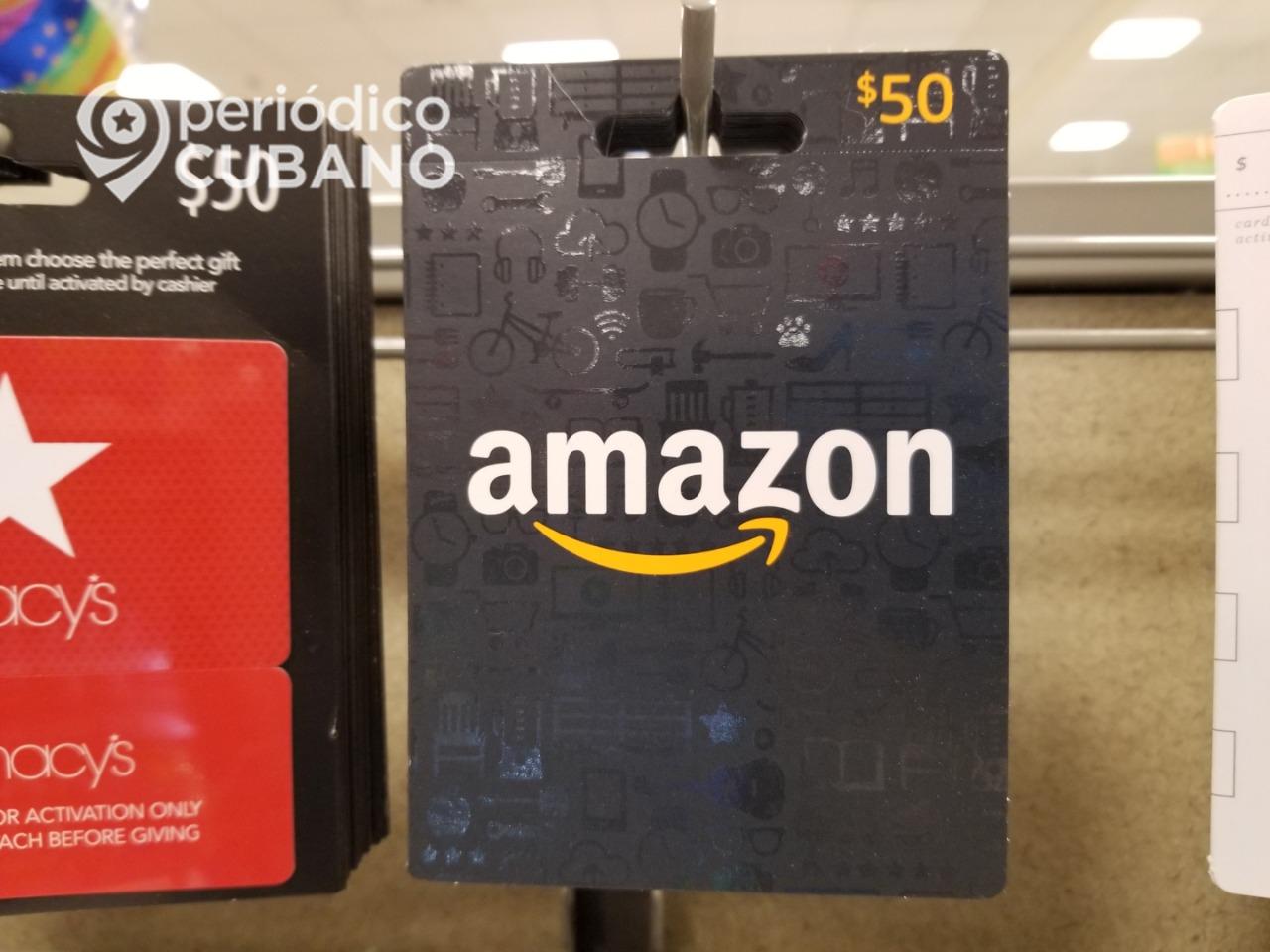 EEUU impone multa a Amazon por vender a la embajada cubana en Washington