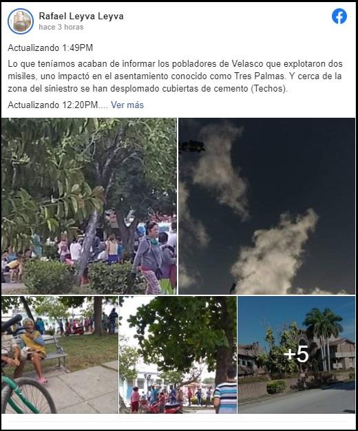 Holguín: Se registran grandes explosiones en la Unidad Militar de Gibara