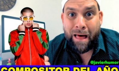 Javier Berridy reacciona ante la noticia de Bad Bunny como mejor compositor del año