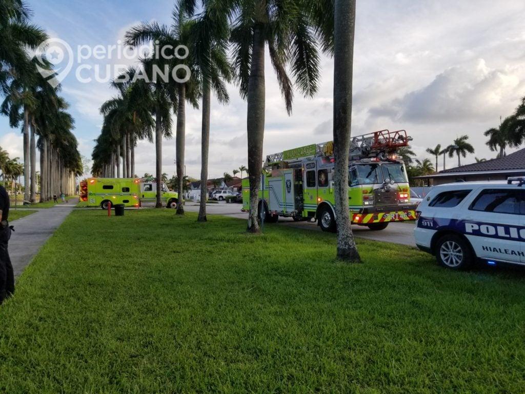 Cubano salva a joven de morir ahogado tras caer en canal de Hialeah Gardens
