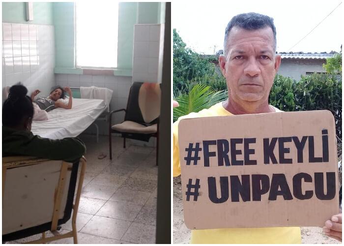 La activista Keilylli de la Mora Valle cumple más de 10 días en huelga de hambre