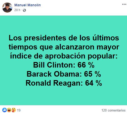 Manolín, el médico de la salsa, defiende a los demócratas atacados de comunistas