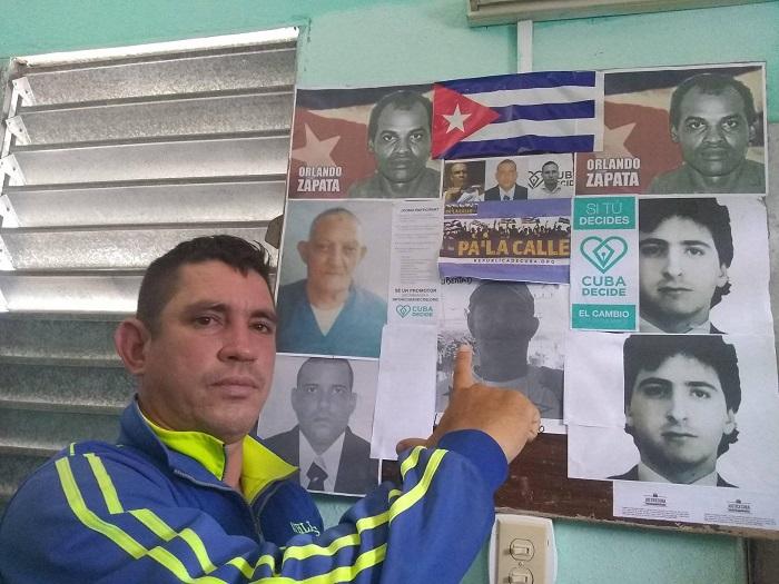 Opositor Yoel Bravo arrestado y golpeado mientras se dirigía a protestar contra la violencia policial