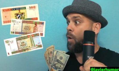 Parodia a las tiendas de dólares en Cuba