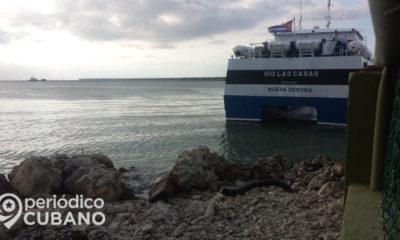 Se reanuda trasporte marítimo con limitaciones entre La Habana y la Isla de la Juventud