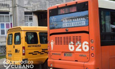 Con menos de 600 guaguas en La Habana es imposible mantener distanciamiento social