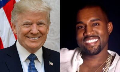 presidente Donald Trump y Kanye West