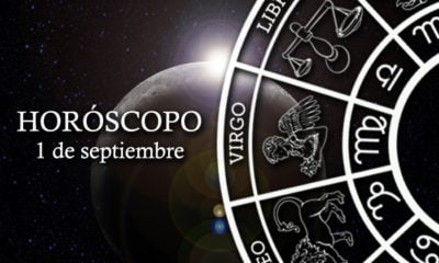 Horóscopo del 1 de septiembre