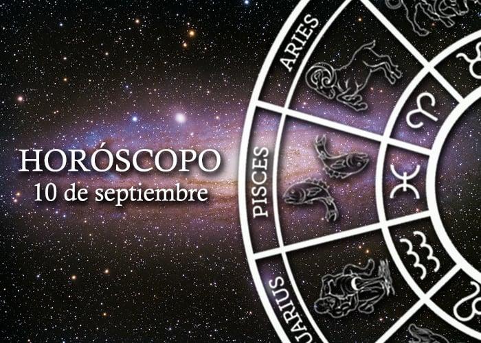 Horóscopo del 10 de septiembre