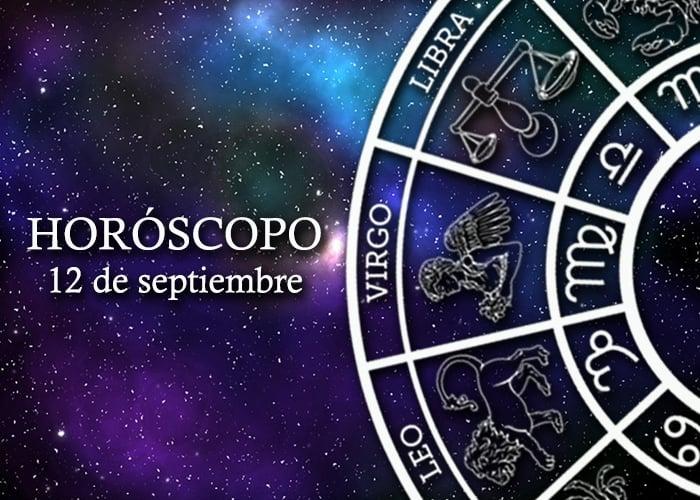Horóscopo del 12 de septiembre