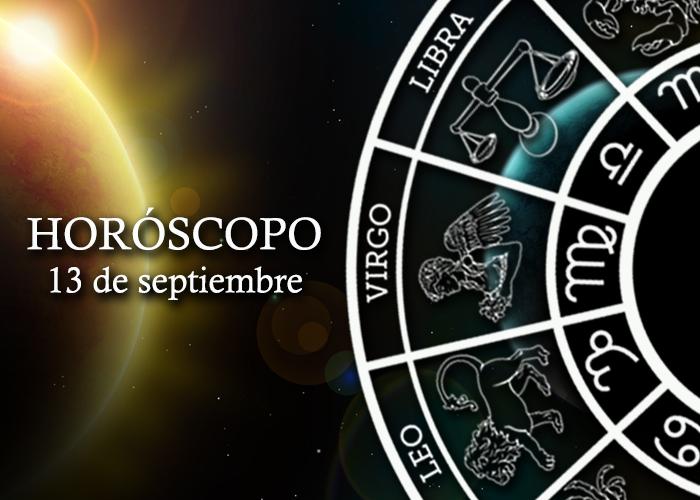 Horóscopo del 13 de septiembre