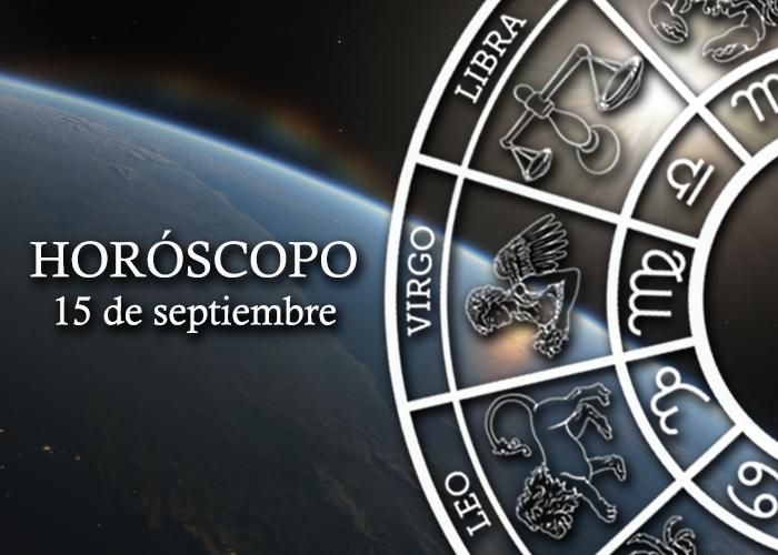 Horóscopo del 15 de septiembre