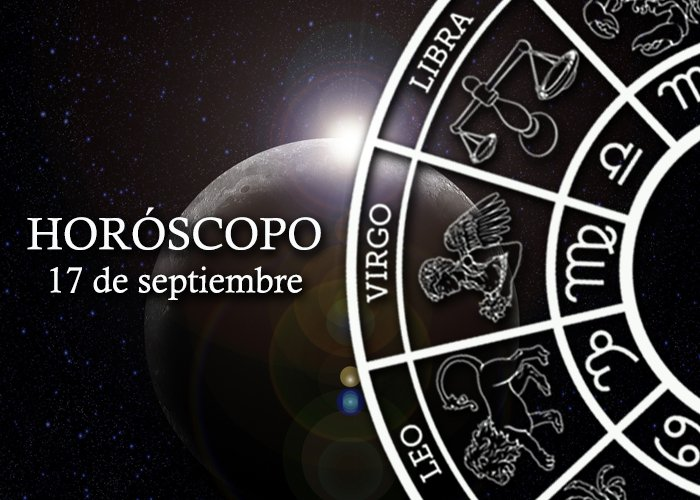Horóscopo del 17 de septiembre