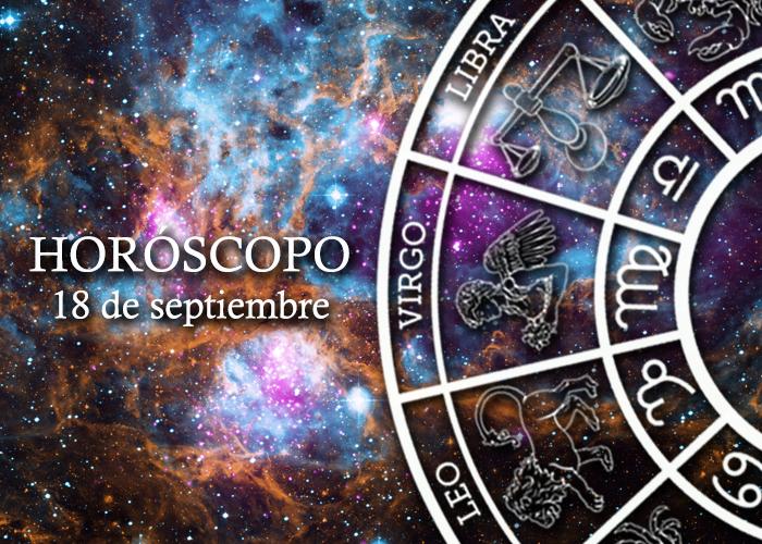Horóscopo del 18 de septiembre