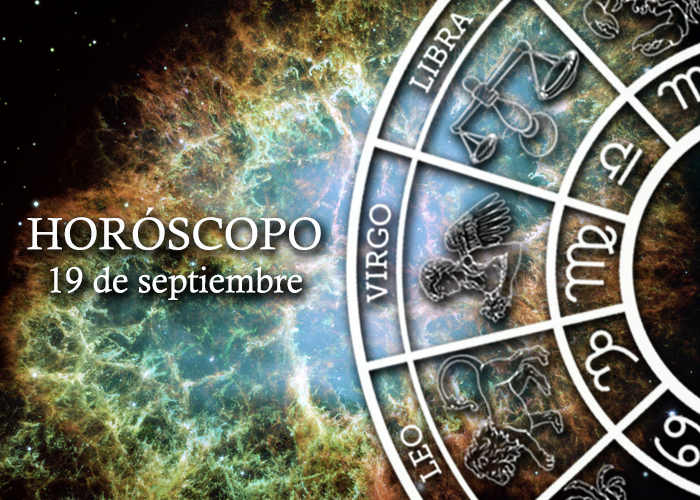 Horóscopo del 19 de septiembre