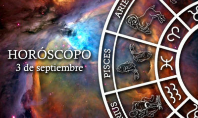 Horóscopo del 3 de septiembre