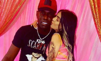 Chocolate MC celebra aniversario con su novia