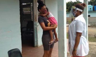 23 familias continúan bajo cuarentena obligatoria en La Palma en Pinar del Río