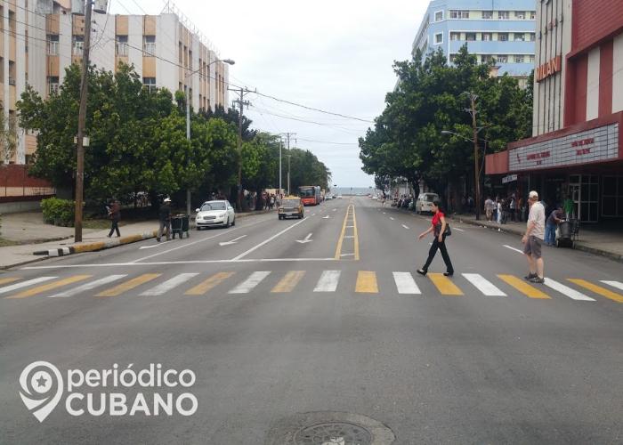 La Rampa, en La Habana, Cuba