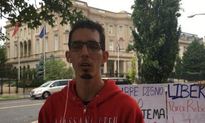 Hijo de Roberto Quiñones protestará en la embajada cubana en EEUU si no liberan a su padre