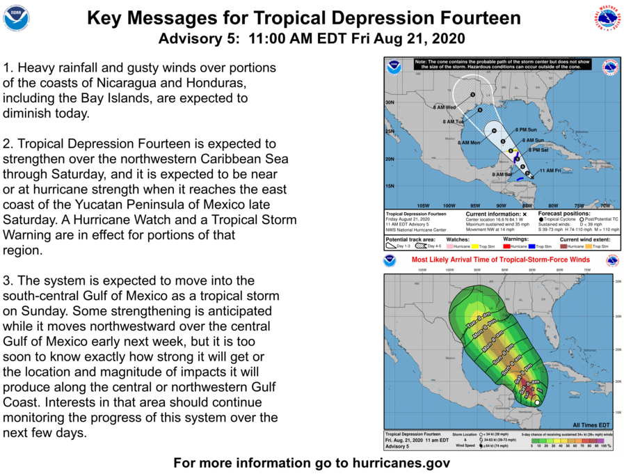 Tormenta tropical Laura impactaría Cuba el domingo