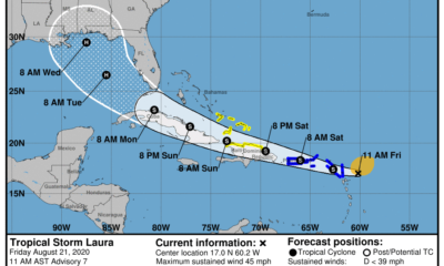 Tormenta tropical Laura impactaría Cuba el domingo