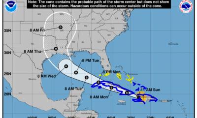 Trayectoria en VIVO del ciclón Laura