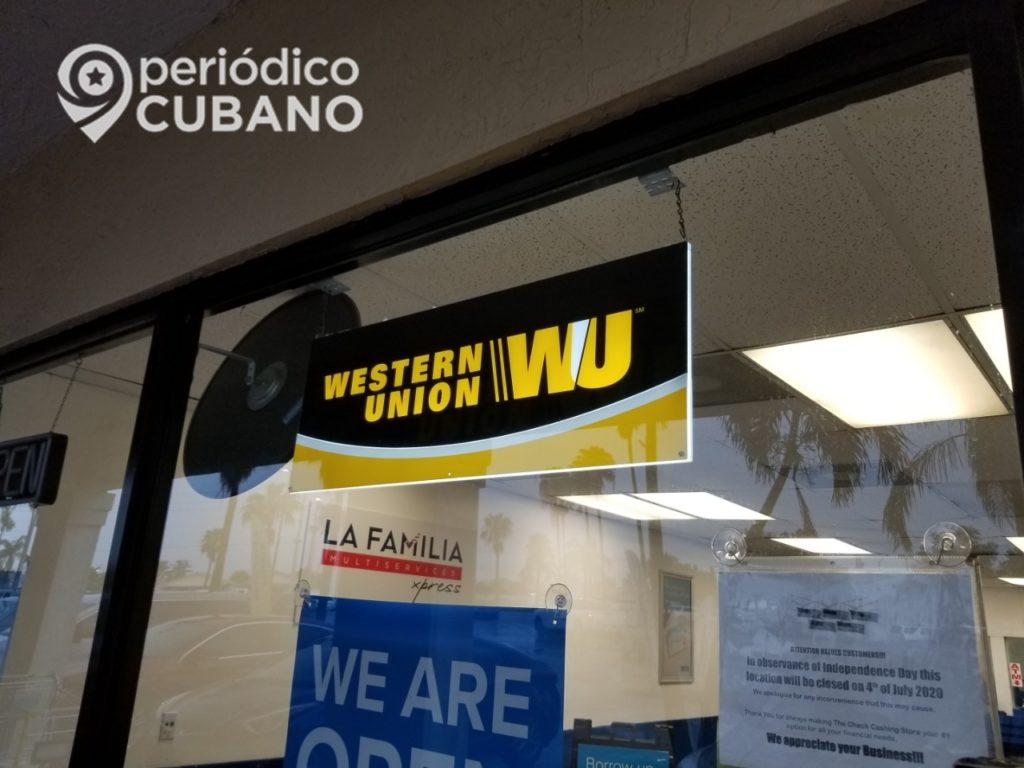 Western Union no entregará dólares en las remesas a Cuba