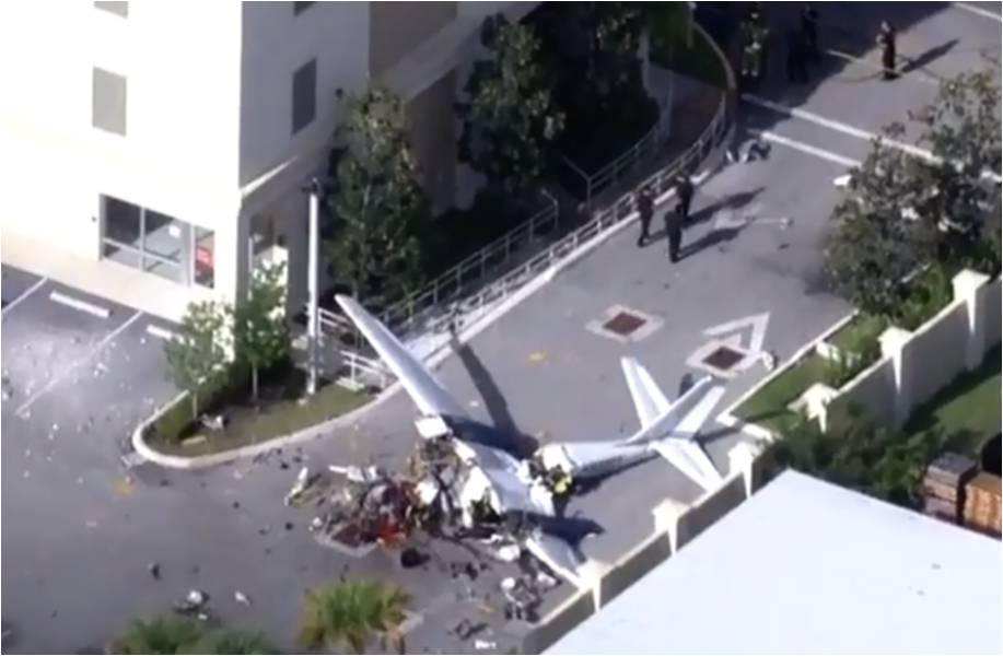 Se estrella una avioneta en Florida, dos personas murieron en el impacto