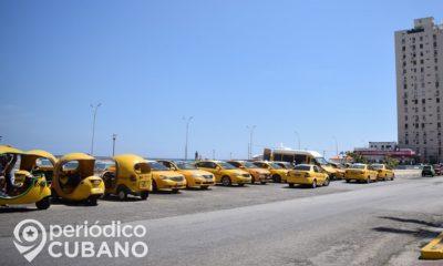 """""""Taxis Cuba"""" lanza nuevo servicio para clientes cubanos ante la falta de turistas"""