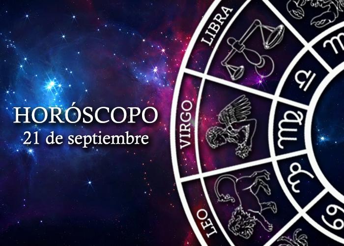 Horóscopo del 21 de septiembre