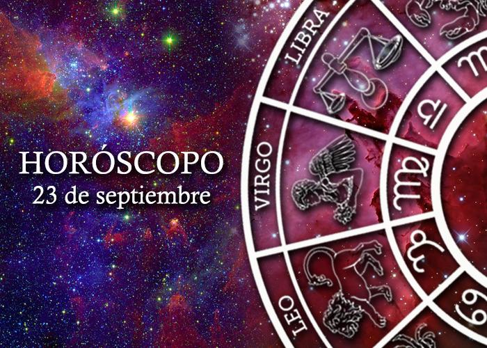 Horóscopo del 23 de septiembre