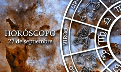 Horóscopo del 27 de septiembre
