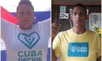 Al menos cuatro integrantes de la Unión Patriótica de Cuba fueron detenidos en las últimas horas por participar en la Revolución de los Girasoles
